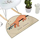 Best Better Homes & Gardens Outdoor Benches - Animal Semicircle Doormat Sleeping Big Bear and Sloth Review