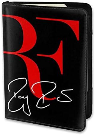 ロジャー・フェデラー パスポートケース メンズ 男女兼用 パスポートカバー パスポート用カバー パスポートバッグ 小型 携帯便利 シンプル ポーチ 5.5インチ高級PUレザー 家族 国内海外旅行用品