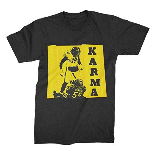 87faf4111 Steelers Karma Shirt JuJu Smith Schuster T-Shirt JuJu Karma Tee Antonio  Brown Karma Tshirt