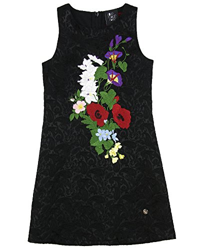 Love Made Love Girls' Sleeveless Jacquard Dress, Sizes 6-12 (11/12) by Love Made Love