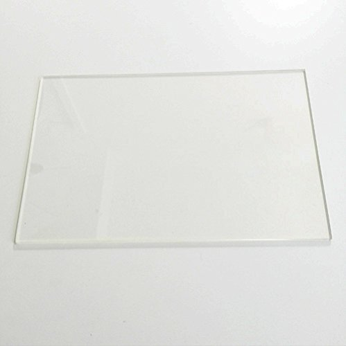 200x200x3mm  Clear Borosilicate Glass Heat Bed  for 3D Printers Prusa etc