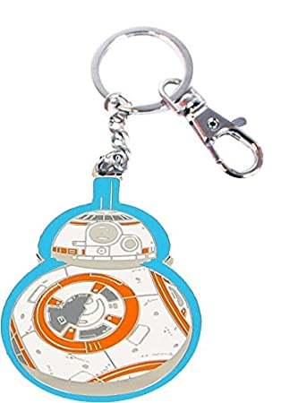 Amazon.com: BB-8 BORDE AZUL LLAVERO METAL STAR WARS EP7 ...