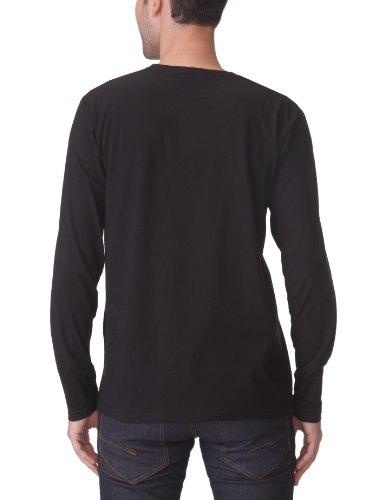 Quiksilver Langarm T-Shirt Reverse Schwarz