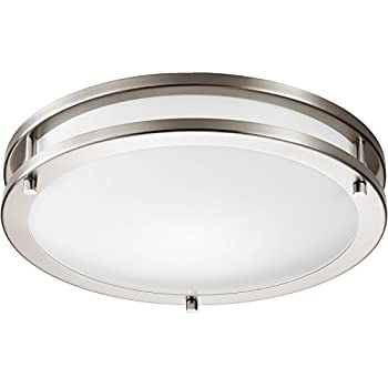 GetInLight LED Flush Mount Ceiling Light, 14 Inch, 20W(100W Equivalent)
