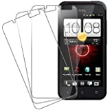 HTC Droid Incredible 4G Screen Protector Cover, MPERO HTC DROID Incredible 4G LTE 3 Pack of Screen Protectors [MPERO Packaging]