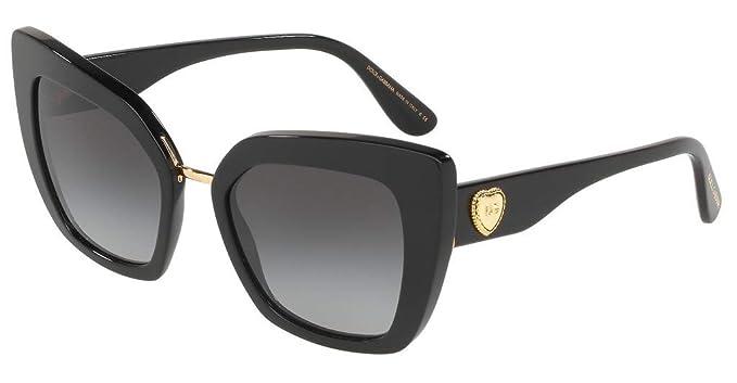 Amazon.com: Dolce&Gabbana DG4359 501/8G-52 - Gafas de sol ...