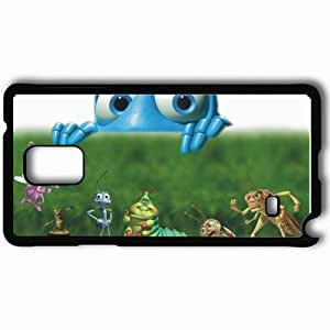 Personalized Samsung Note 4 Cell phone Case/Cover Skin A bugs life movies Black