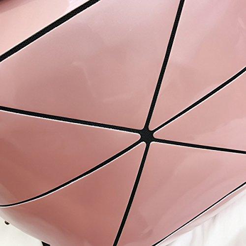 Pink A Piegata Che Signore Tracolla Delle Piega Modo Di Multiuso Borsa Multifunzionale HYW57qwYP