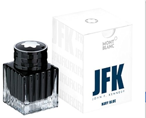 Mont Blanc JFK Navy Blue Ink Bottle 30ml