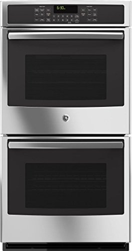 GE JK5500SFSS 27' Built-In Double Convection Wall Oven In Stainless...