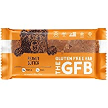 The GFB Gluten Free, Non-GMO High Protein Bars, Peanut Butter, 2.05 Ounce (Pack of 12) Packaging May Vary