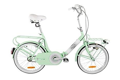 Graziella Style Bici 20 Ivel Dolcevita Verde Acqua Pieghevole