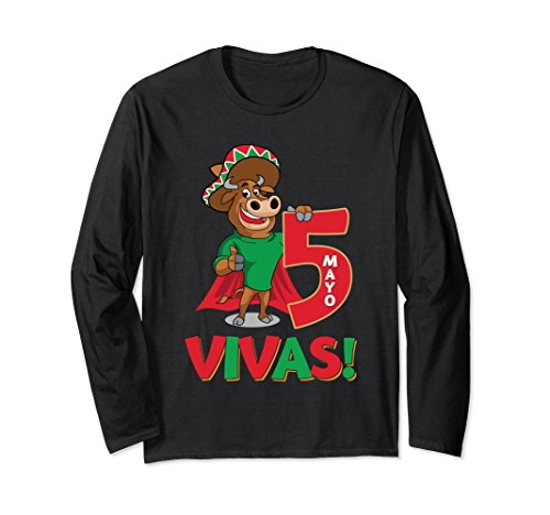 De Viva Mayo Cinco (Unisex 'VIVAS! Cinco de Mayo' Cool Cinco De Mayo Gift Shirt 2XL Black)