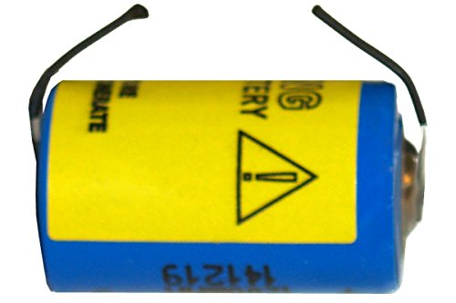 - 3.6 Volt 1/2 AA 1200 mAh Primary Lithium Battery with Tabs (LS14250 & ER14250)