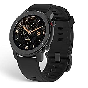 """Amazfit Smartwatch GTR 42mm 1.2"""" Touch Control Color Display, Sleep Monitor, Sports Watch 5 ATM Waterproof Stopwatch…"""