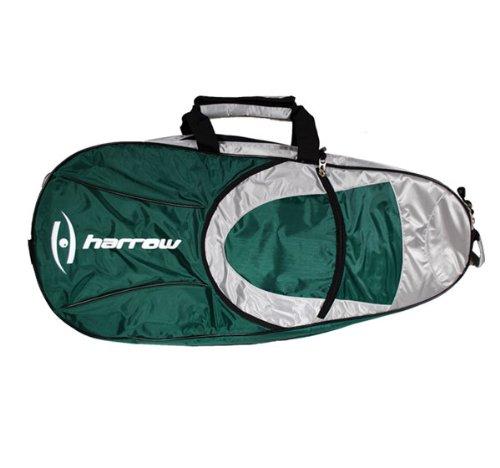 (Harrow 6 Racquet Bag, Forest/White)