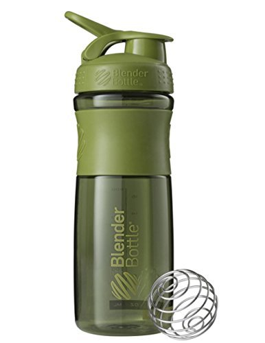 New Blender Bottle SportMixer 28 oz. Bottle Tritan Grip Full Colors Assorted - MOSS GREEN COLORS (Blender Bottle Odor Resistant compare prices)