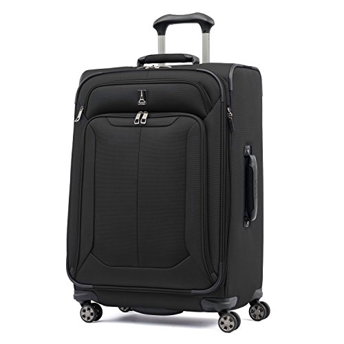 Travelpro Skypro Lite 25'' Expandable 8-Wheel Luggage Spinner (Black) by Travelpro