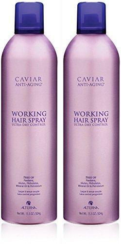 Caviar Anti-Aging Working Hair Spray, 15.5-Ounce, 2-Count