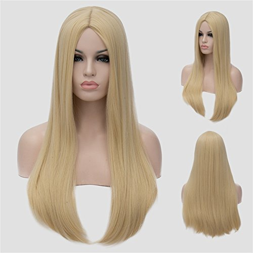 "CoastaCloud 24"" Wig Women's Long Straight Hair"