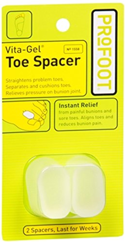 ProFoot Vita-Gel Toe Spacer 2 Each (Pack of 7)