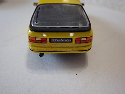 Amazon.com: Pit (Italy) Yellow Porsche 924 Turbo Diecast/Transkit 1:43: Toys & Games