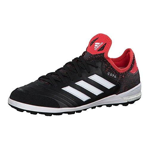 adidas Herren Copa Tango 18.1 TF Fußballschuhe Schwarz (Core Black/Footwear White/Real Coral)