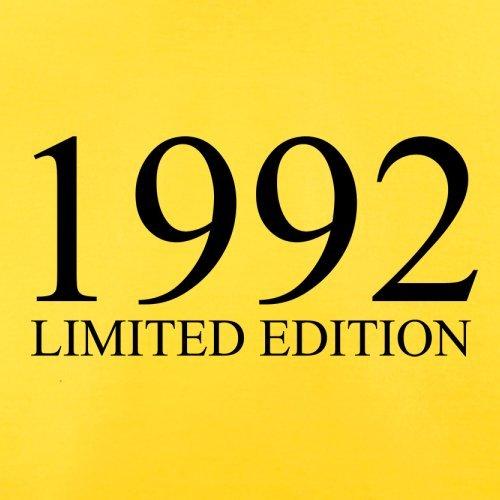 1992 Limierte Auflage / Limited Edition - 25. Geburtstag - Herren T-Shirt - Gelb - S
