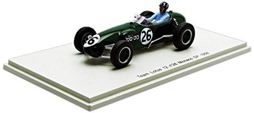 G. Hill Lotus 12  26 Monaco GP Formel 1 1 1 1958 1:43 Spark e344ed