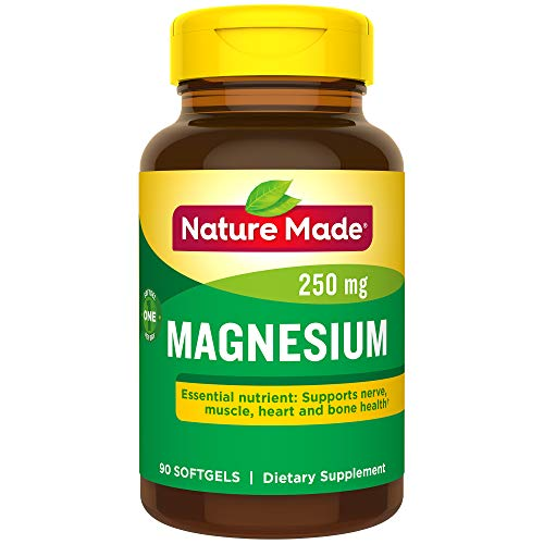 - Nature Made Magnesium 250 mg Softgels 90 Ct