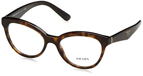 Prada TRIANGLE PR11RV Eyeglass Frames 2AU1O1-50 - - Triangle Prada