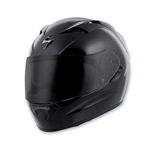 Scorpion EXO EXO-T1200 Gloss Black Full Face Helmet, XL