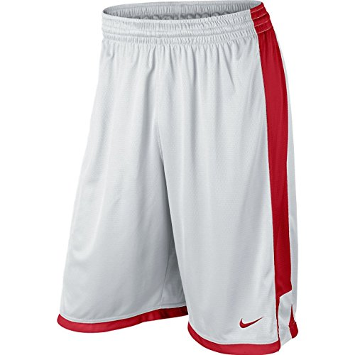 Nike white Uomo university Team red Pantaloni Post Up corti university red 7SxrWgwB7q