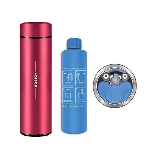 Dison Insulin Cooler Travel Case Portable Insulin Cooler Bag Bottle Keep Insulin at 2-8 Degree Diabetes Insulin Cooler case 3 * 9 Inch Red