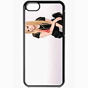 diy phone casePersonalized iphone 4/4s Cell phone Case/Cover Skin Avril lavigne singer blonde gumshoes Music Blackdiy phone case