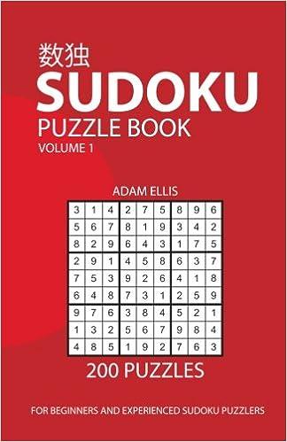sudoku puzzle book volume 1 200 puzzles adam ellis 本 通販