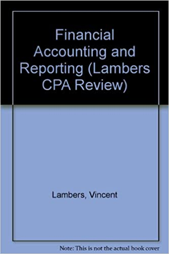 Lambers CPA Review Financial Accounting and Reporting (Lambers Cpa Review 2002, 1)
