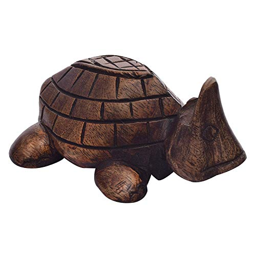 e117f2241715 storeindya Thanksgiving Gifts Wooden Nose Shaped Eyeglass Holder Spec Stand  (Turtle Collection)