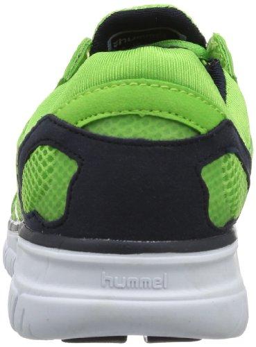 Hummel HUMMEL CROSS LITE 60-055-6402 Unisex-Erwachsene Hallenschuhe, Grün (Green Flash 6402), EU 43