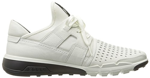 Ecco Mænds Iboende 2 Perforeret Mode Sneaker Hvid / Hvid HEKt8f