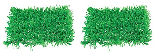 Beistle Green Tissue Grass Mats |15-Inch x 30-Inch | (2-Pcs)