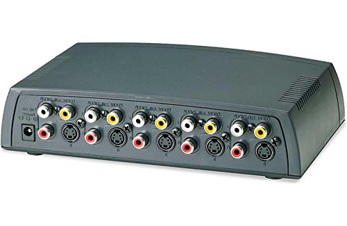 Arista 4 x 1 Automatic A/V Selector