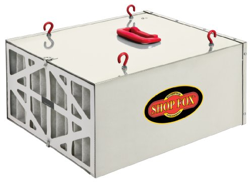 Shop Fox W1830 3-Speed Hanging Air Filter