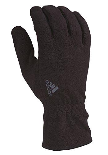 Adidas Athletic Gloves (adidas Comfort Fleece 2 Gloves, Black, Medium/Large)