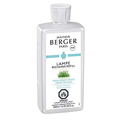 Lampe Berger Fragrance Refill for Home Fragrance Oil Diffuser | Purifying and perfuming Your Home | 33.8 Fluid Ounces - 1 Liter | More Than 40 Fragrances | Made in France