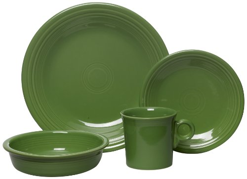 Fiesta 4-Piece Place Setting, Shamrock