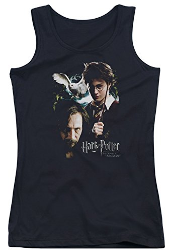A&E Designs Juniors Harry Potter Harry and Sirius Tank Top, Black, XL
