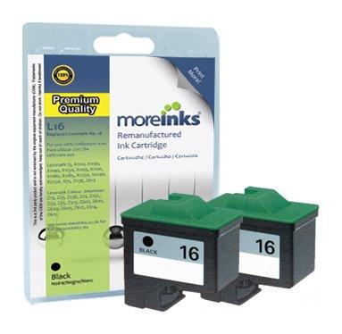 2 x Lexmark X1180 Cartuchos de impresora compatibles de alta ...