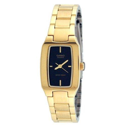 Casio General Ladies Watches Metal Fashion LTP-1165N-1CDF - WW Casio Gold Bracelet
