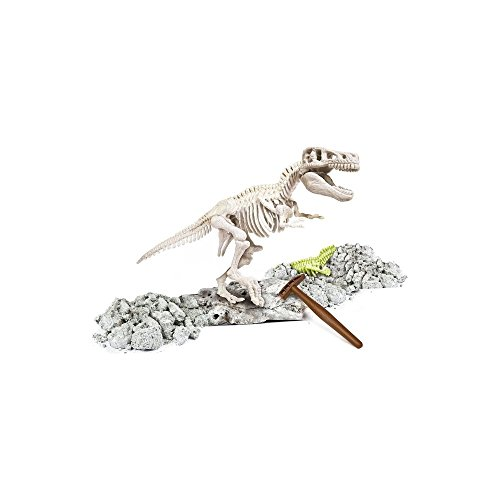 Educational Game For Kids – Archaeology Dinosaur Excavation Kit – Glow in the Dark T-REX Skeleton